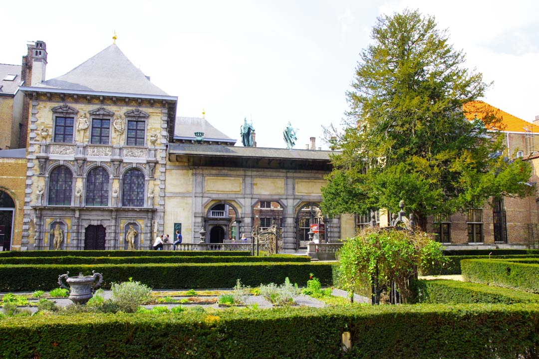 Jardin de la Maison de Rubens - Anvers