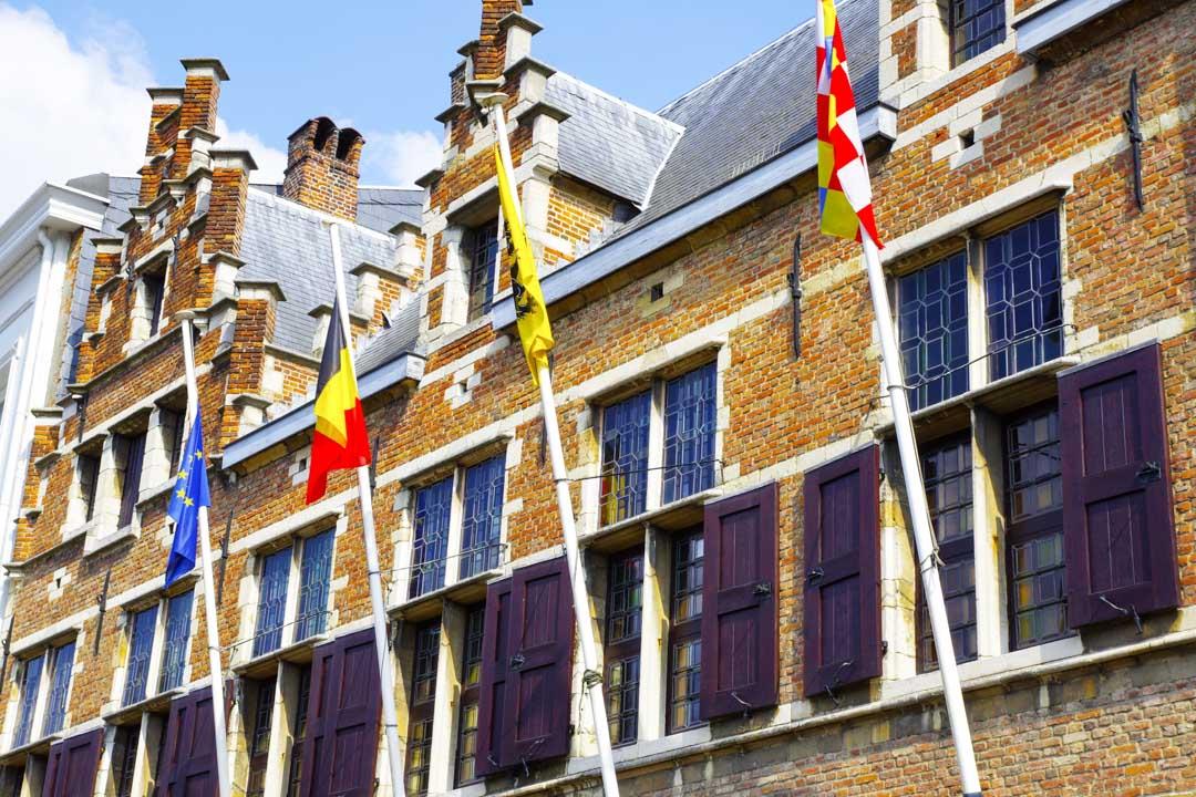 Façade extérieure de la maison de Rubens - Anvers