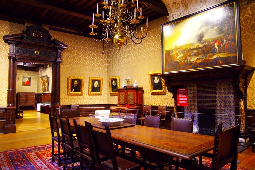 salon de la maison Plantin Moretus - Anvers