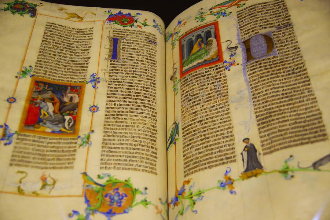 manuscrit du moyen age