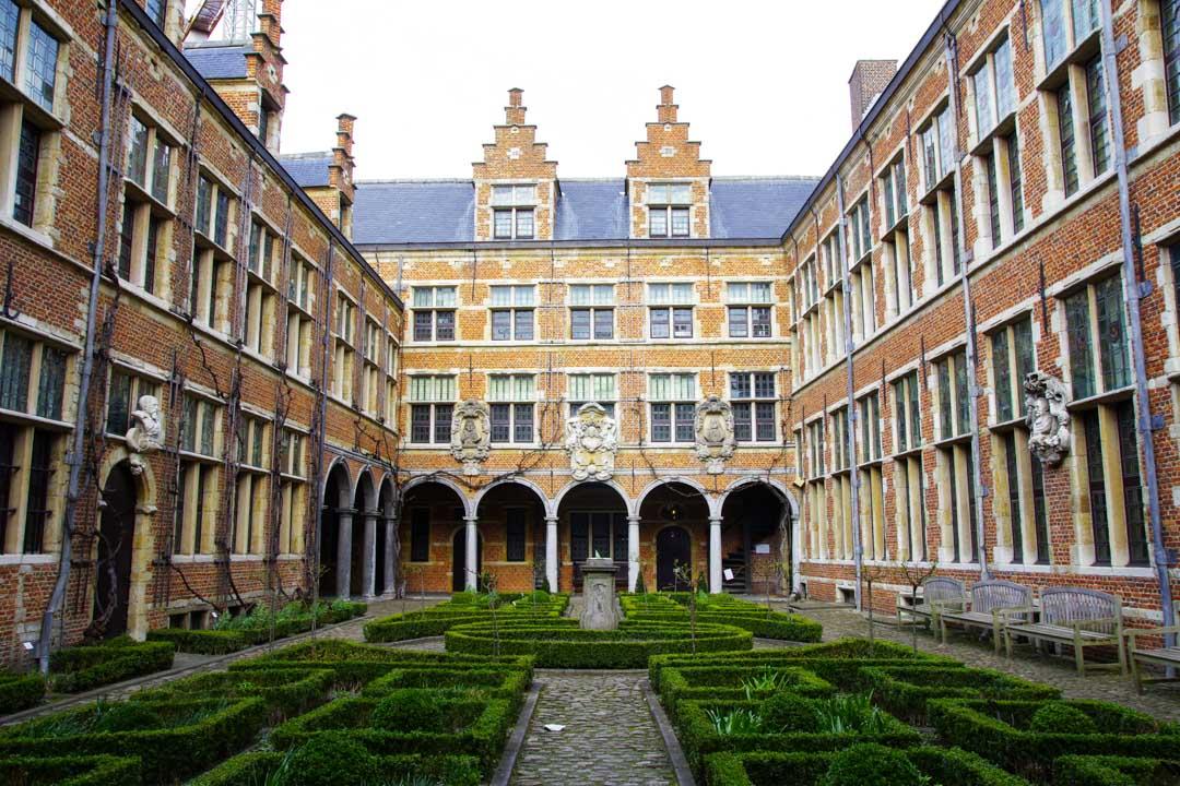Cour de la maison Plantin Moretus - Anvers