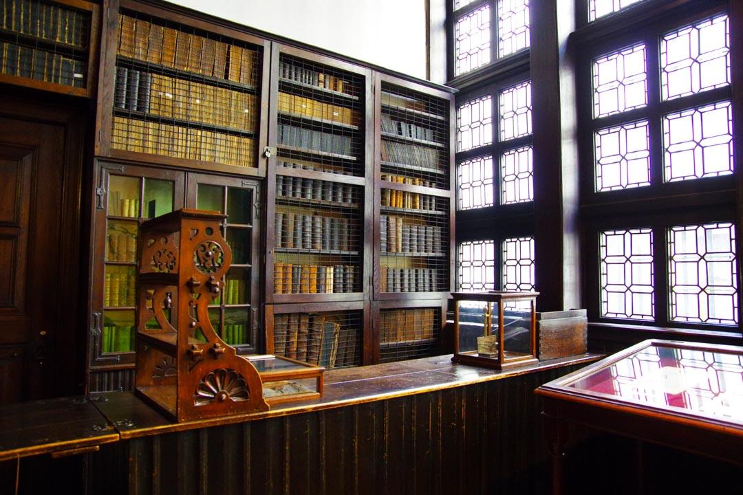 Librairie de la maison Plantin Moretus - Anvers