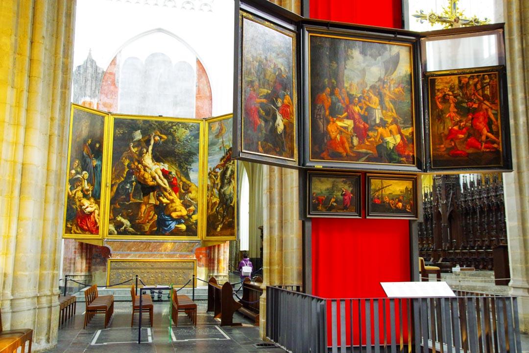 Collections de tableau - Cathédrale Notre Dame d'Anvers