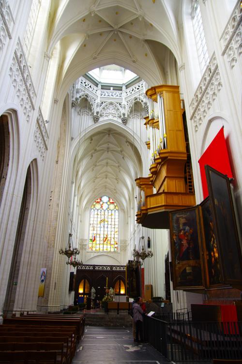 Transept de la cathédrale notre dame d'Anvers