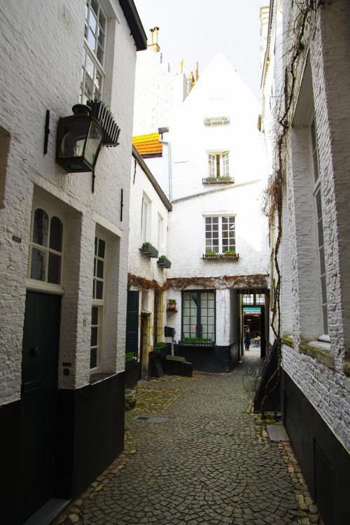 Ruelle du quartier Vlaeykensgang - Anvers