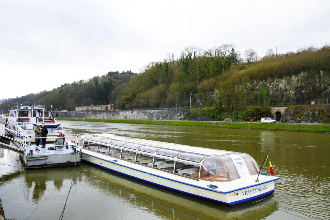 bateau mouche de Dinant