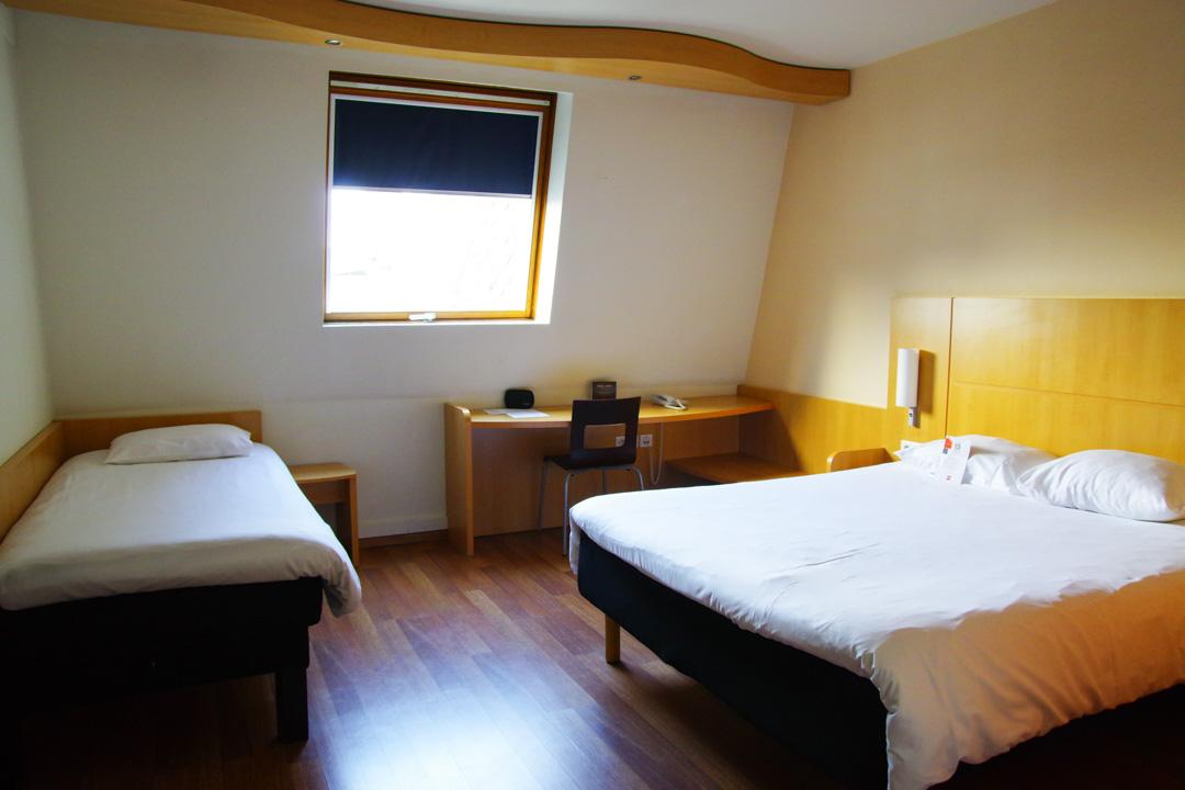 chambre d'hotel ibis gare du midi