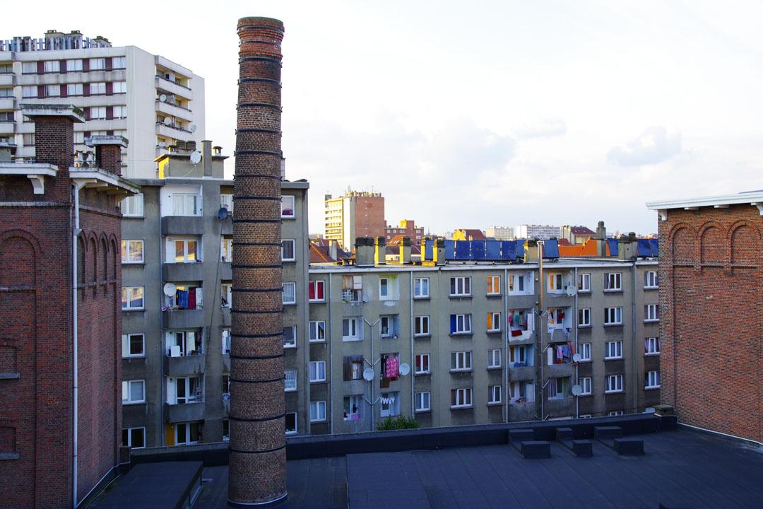 Molenbeek vue du MIMA