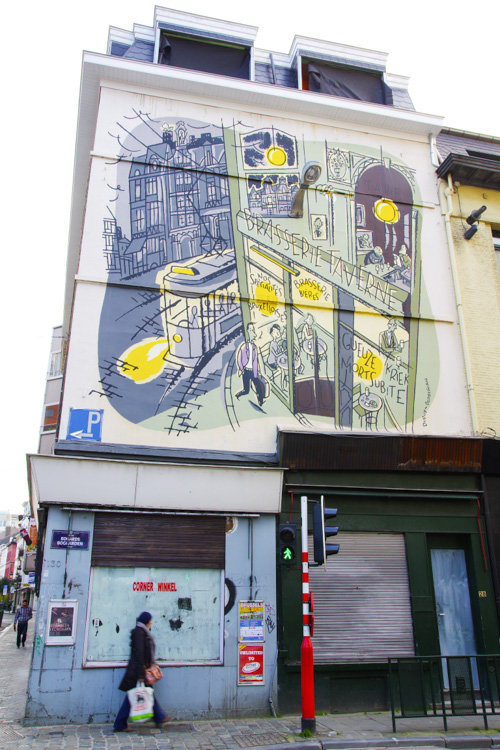 Façade BD - Bruxelles