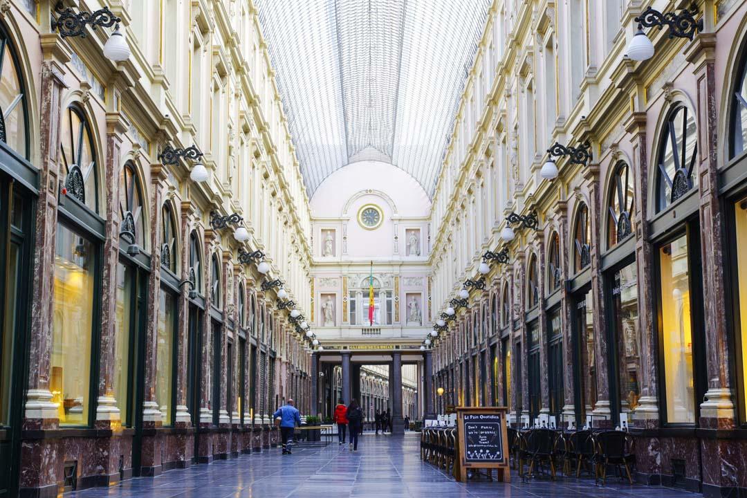 Galeries Royales Saint Hubert - Bruxelles