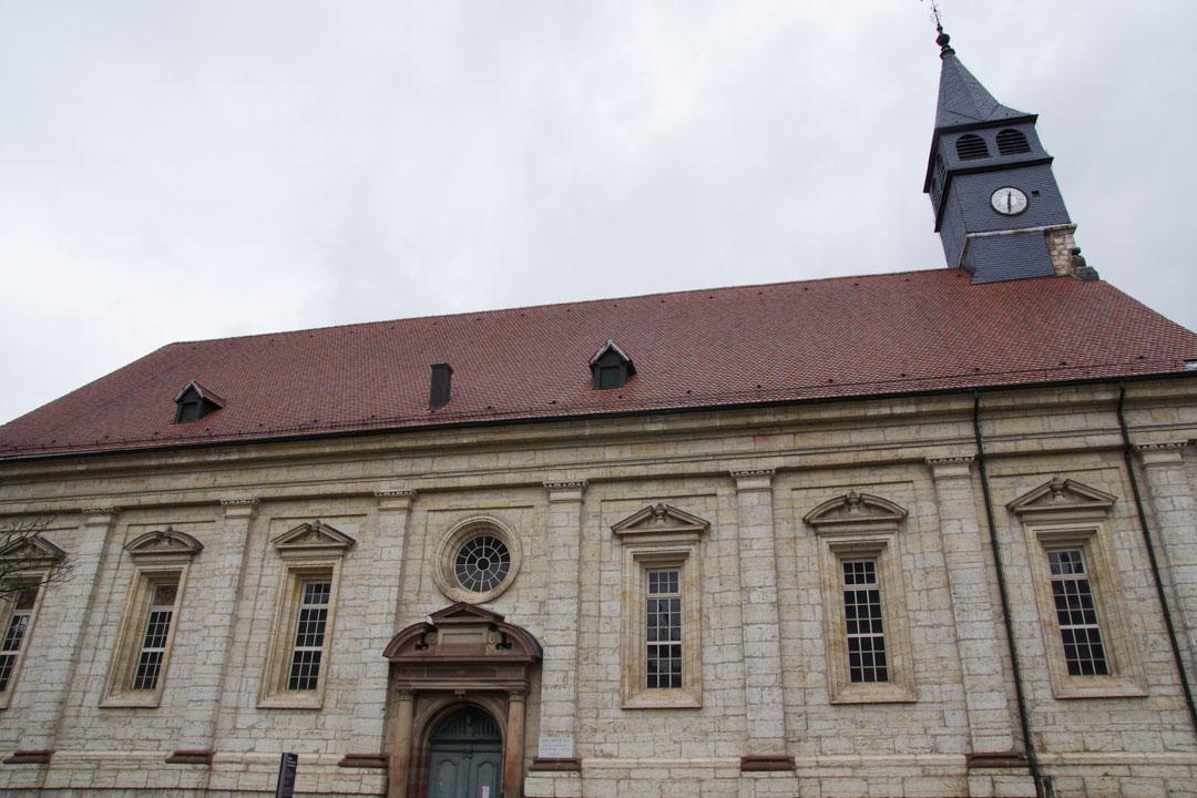 temple saint martin - montbéliard
