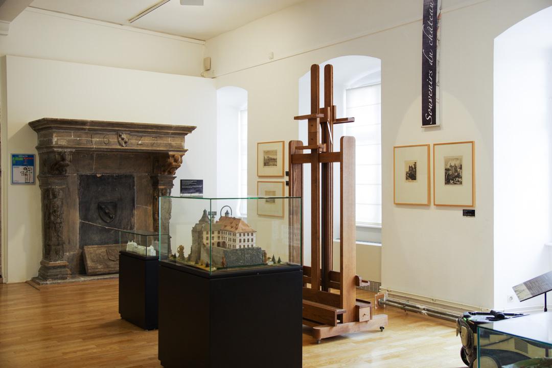 collection historique - musée du chateau des Ducs de Wurtemberg
