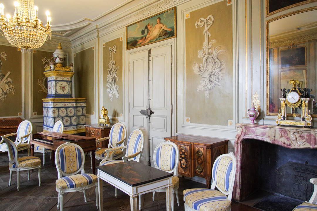 intérieur de l'hôtel Beurnier Rossel - Montbelliard
