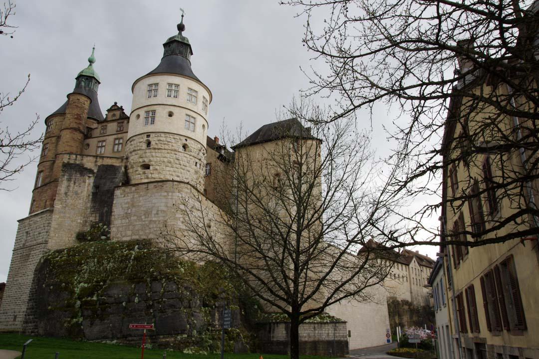 chateau des ducs de Wurtemberg - Montbeliard