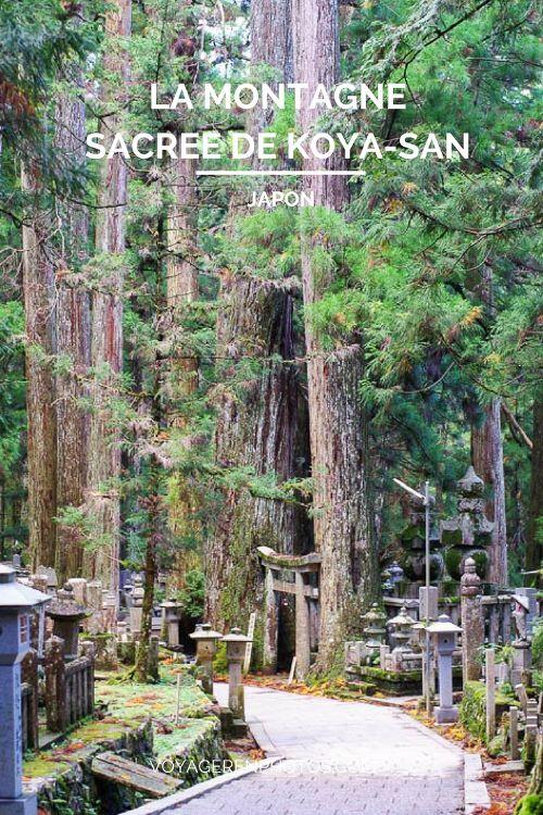 Guide de la montagne sacrée de Koya-San sur la péninsule de Kii au Japon. Dormir dans un temple bouddhiste, visiter le cimetière de l'Okuno-in, randonnée, visite de temples...