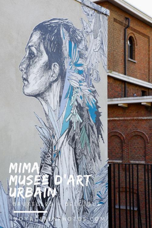 Visite du MIMA à Molenbeek, le musée de l'art urbain et 2.0