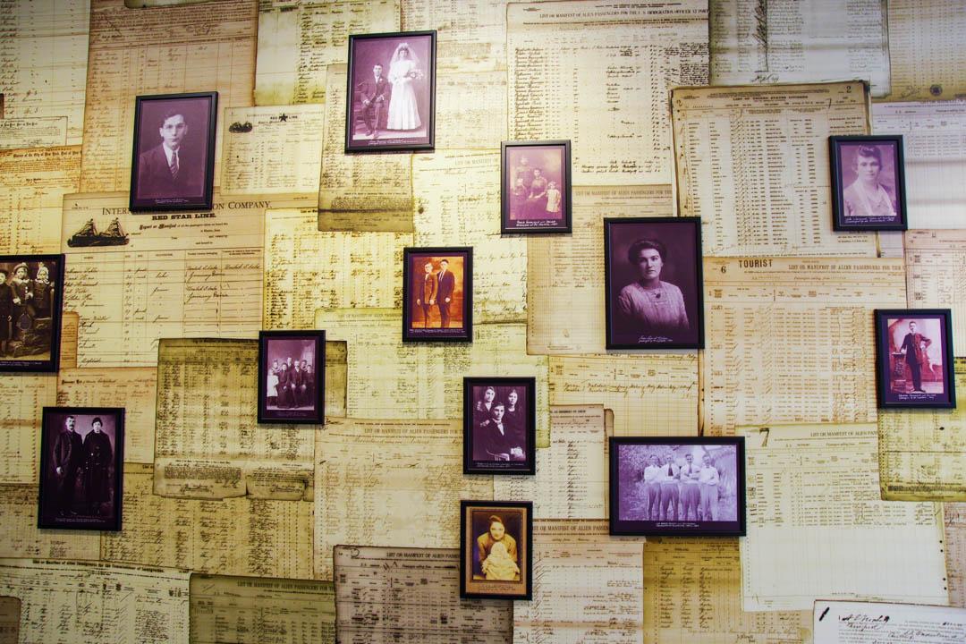musée red star line - portrait des émigrants