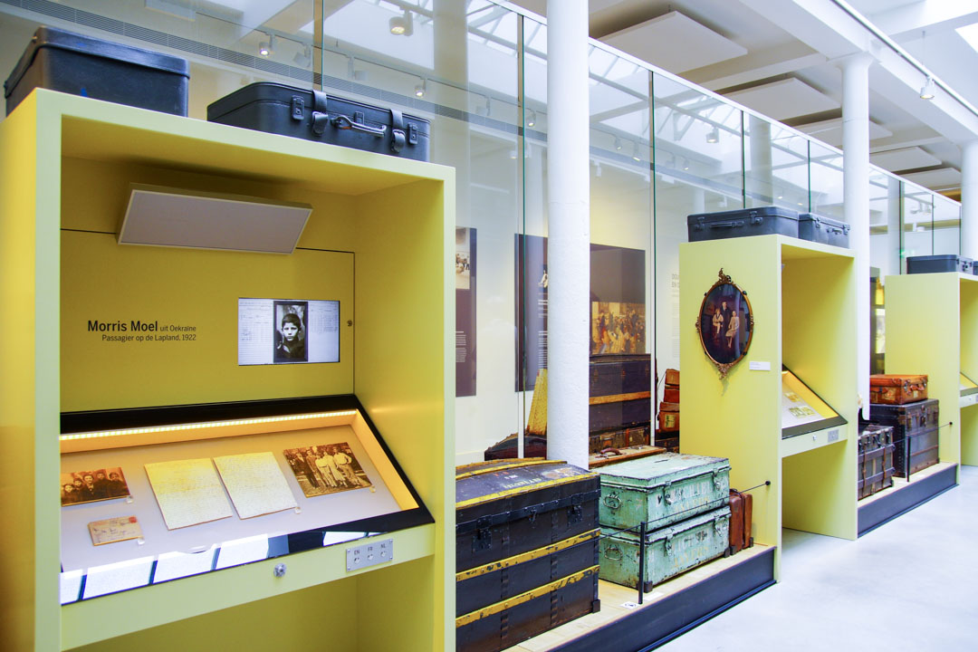 intérieur du musée de la Red Star Line