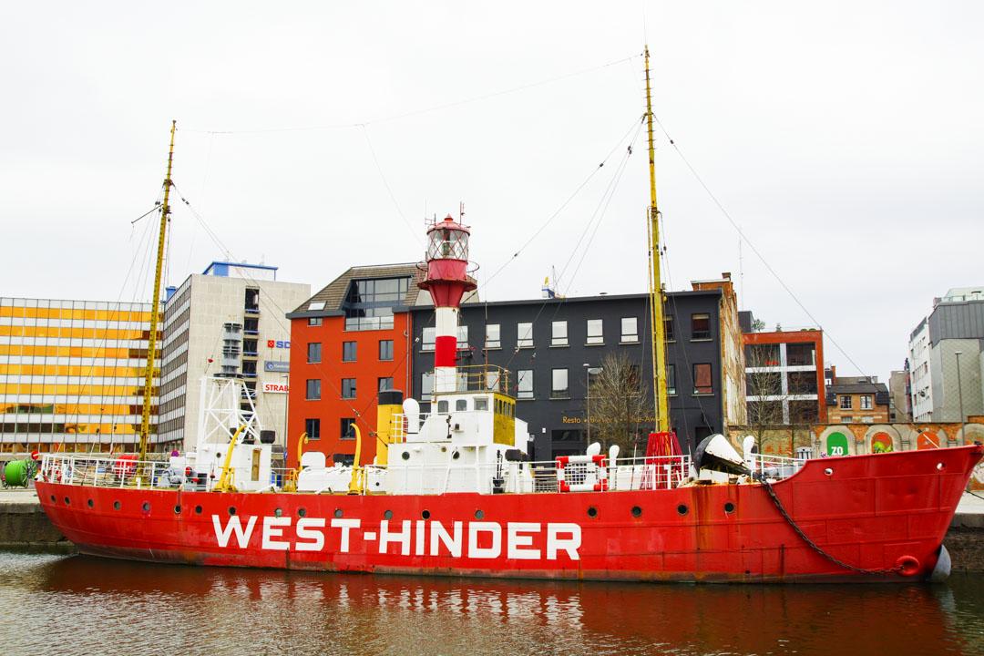 bateau phare - Anvers
