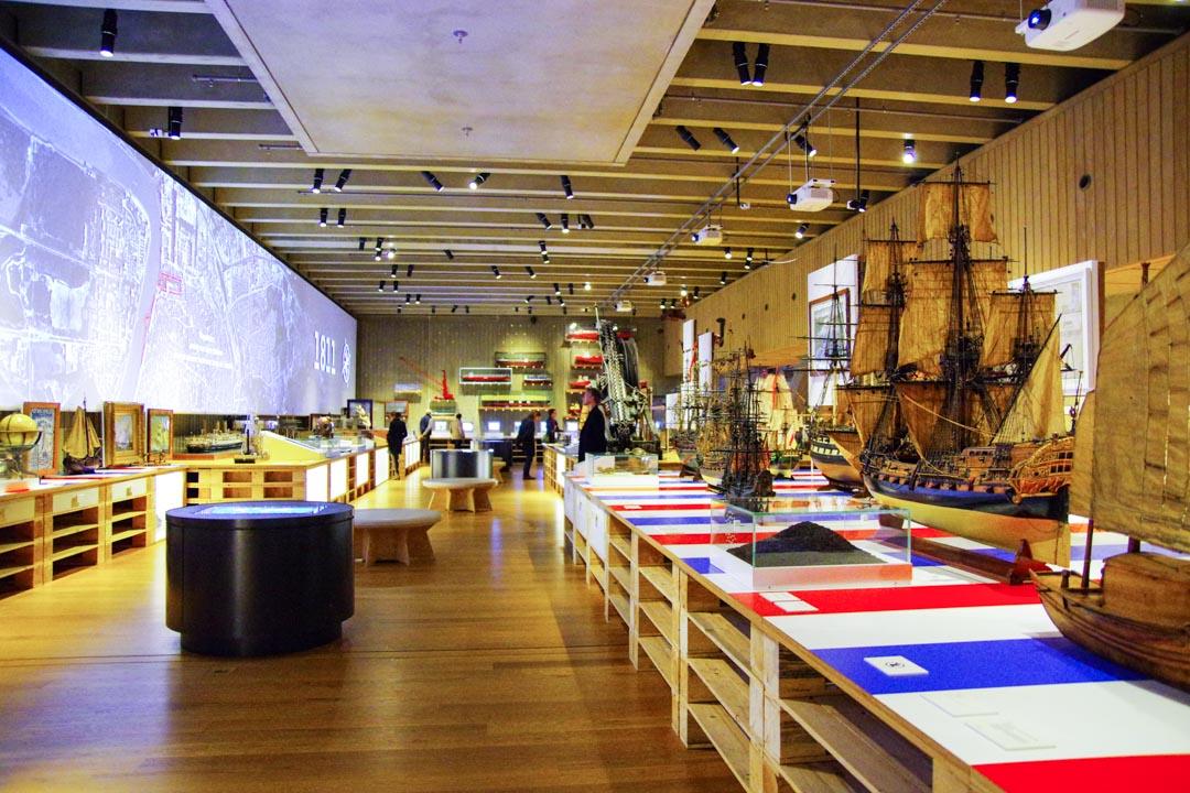intérieur du musée du MAS