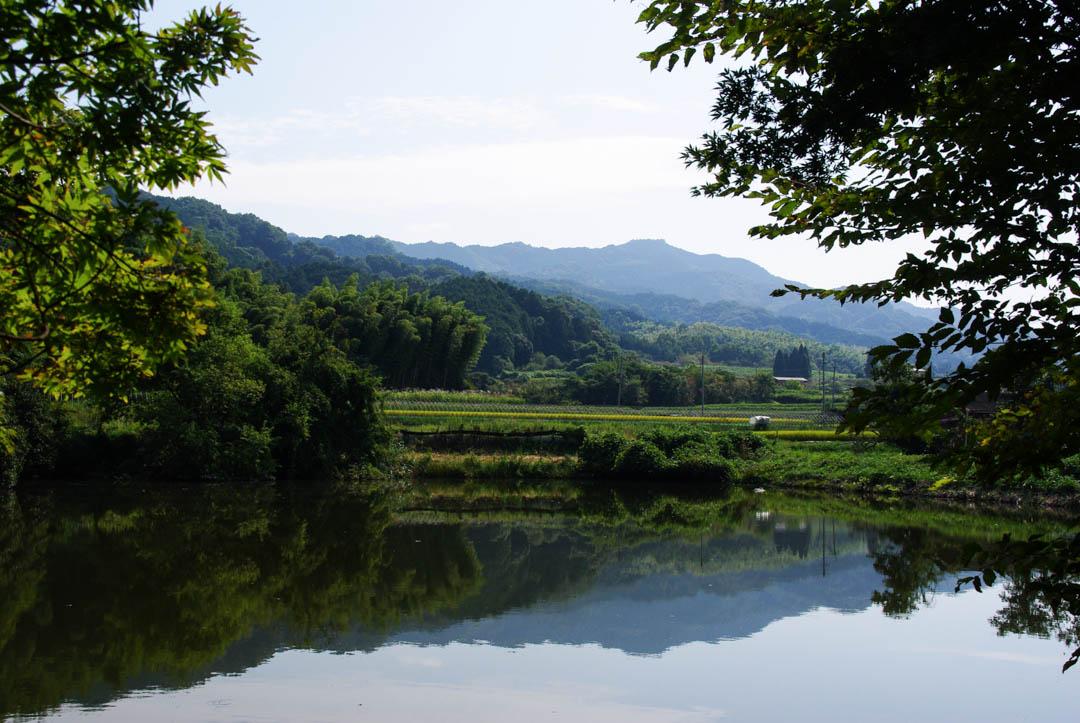 Nara hors des sentiers battus sur le chemin Yama-no-be-no-michi