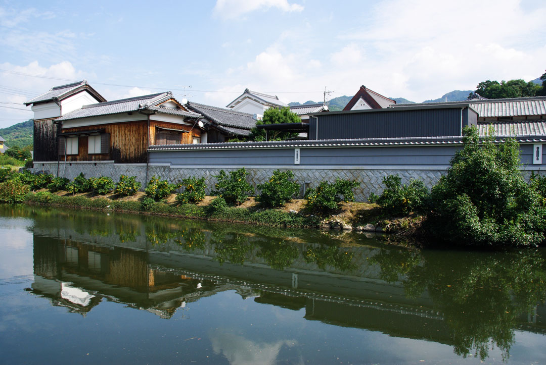 ville fortifiée de Takenouchi - Japon