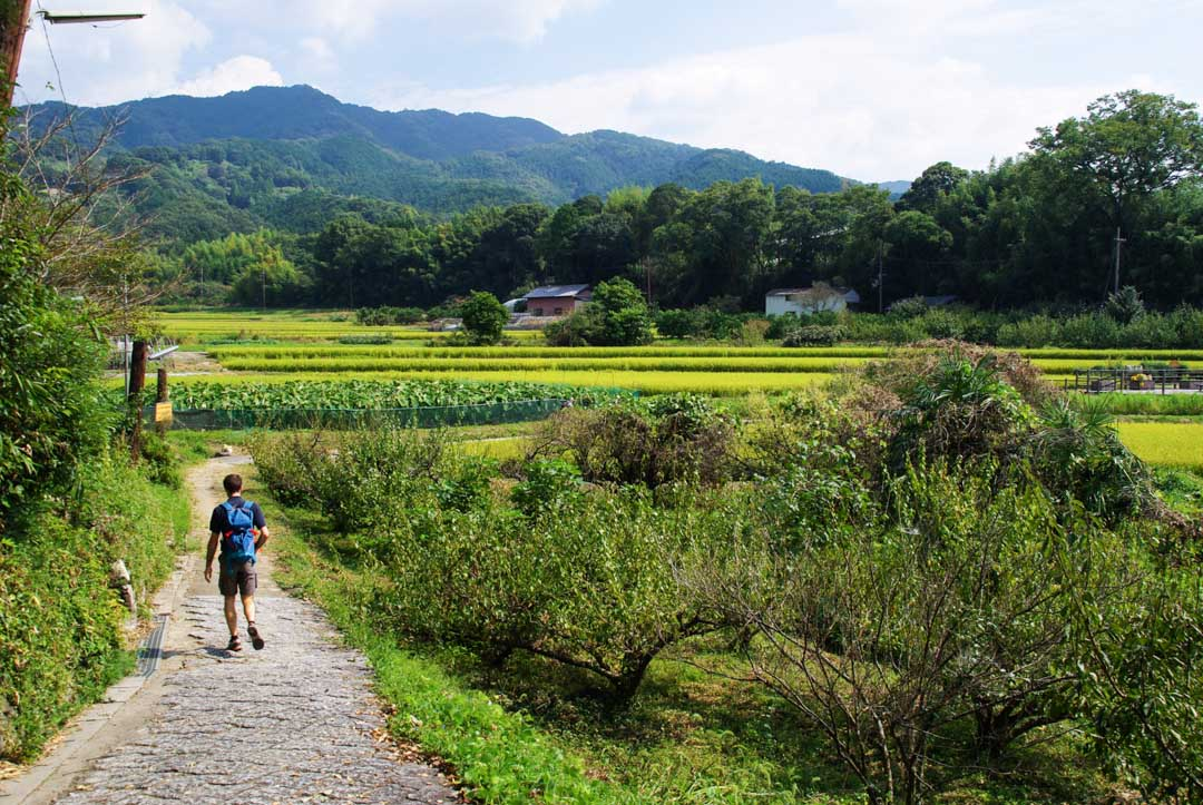 LE chemin de randonnée Yama no be no michi