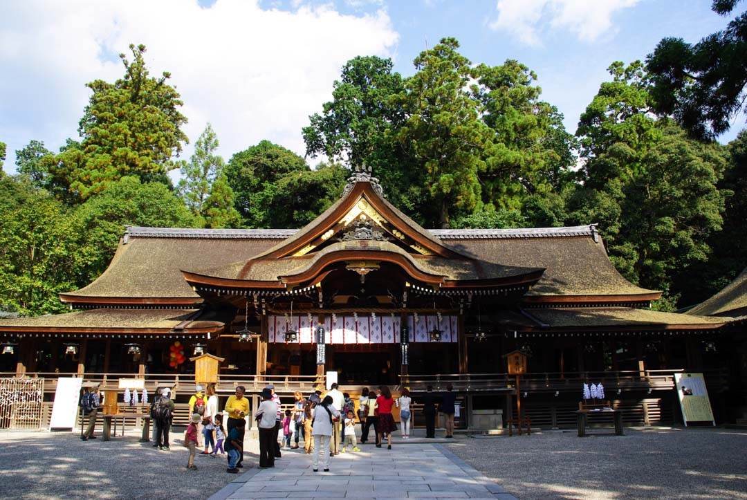 temple omiwa-jinja - Sakurai - Japon
