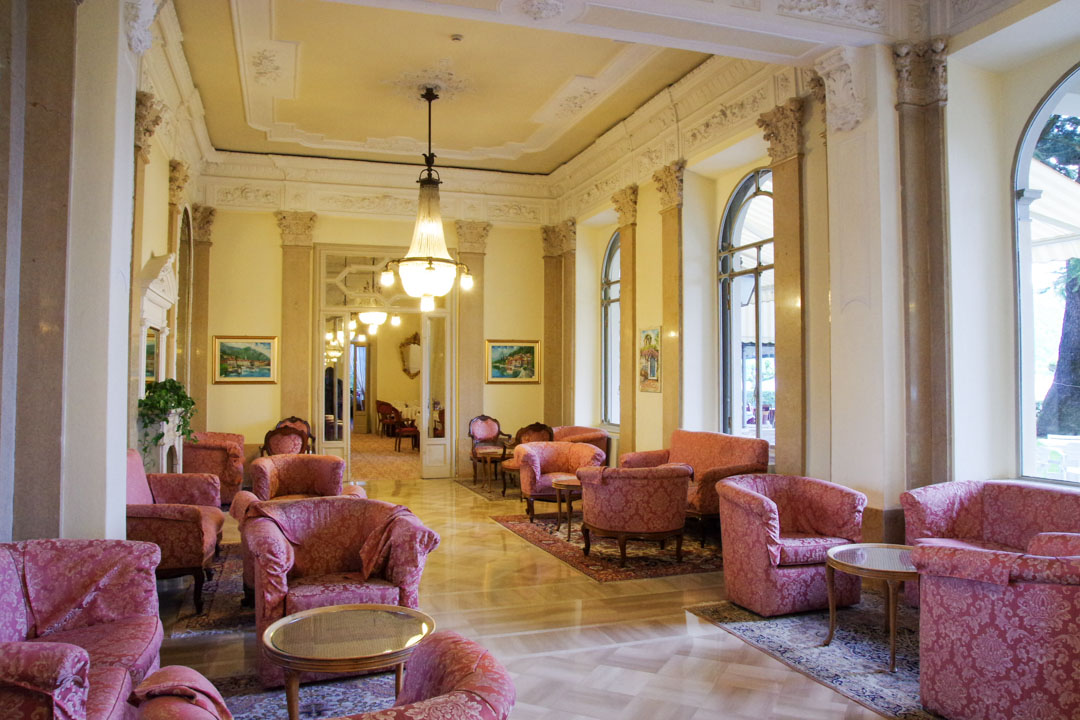 Salon - Grand Hotel Victoria - Mennagio