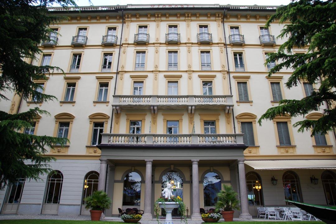 Entrée principale - Grand Hotel Victoria - Mennagio