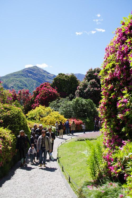 balade dans le jardin botanique de la villa Carlotta