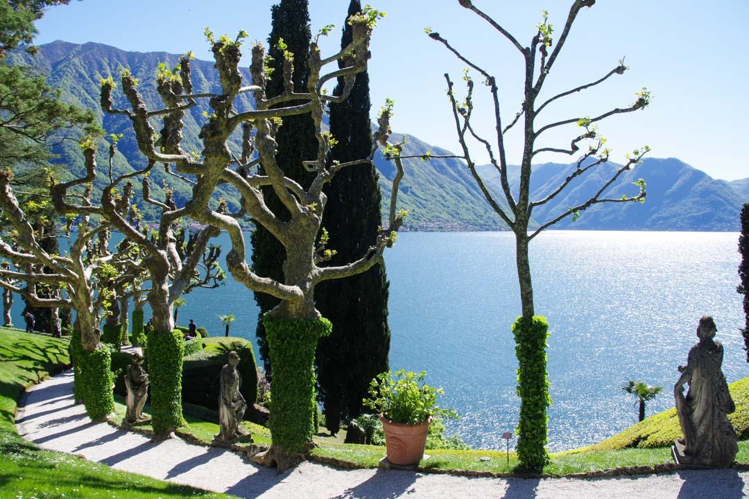 Jardin de la Villa del Balbianello