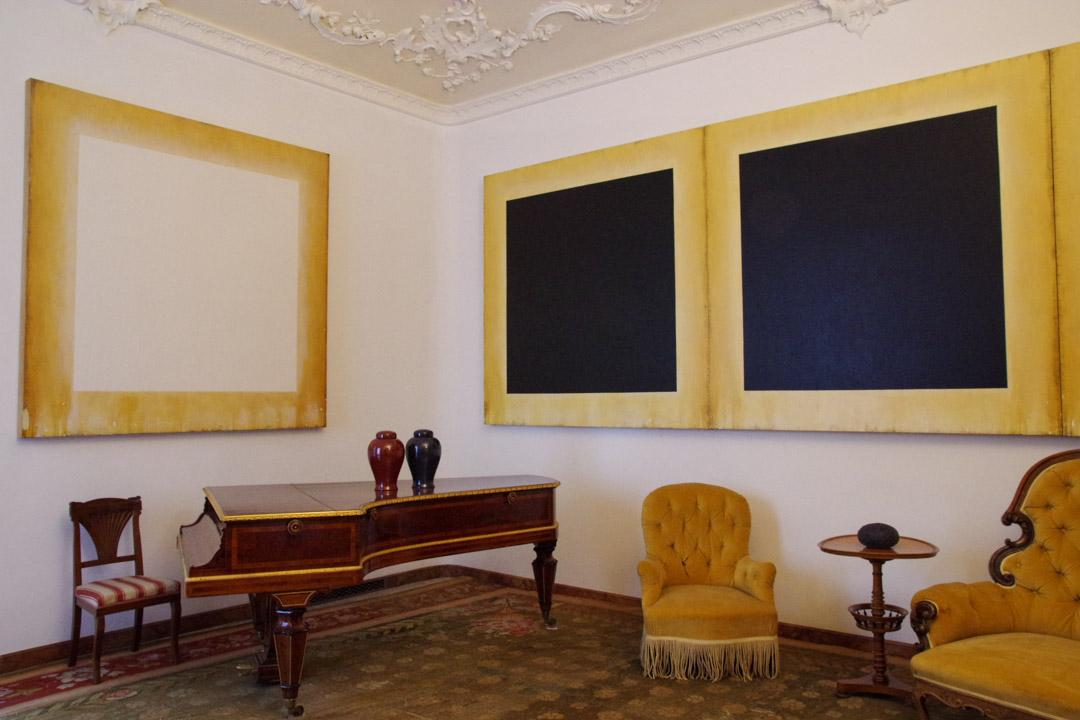 intérieur de la villa Panza - Varèse