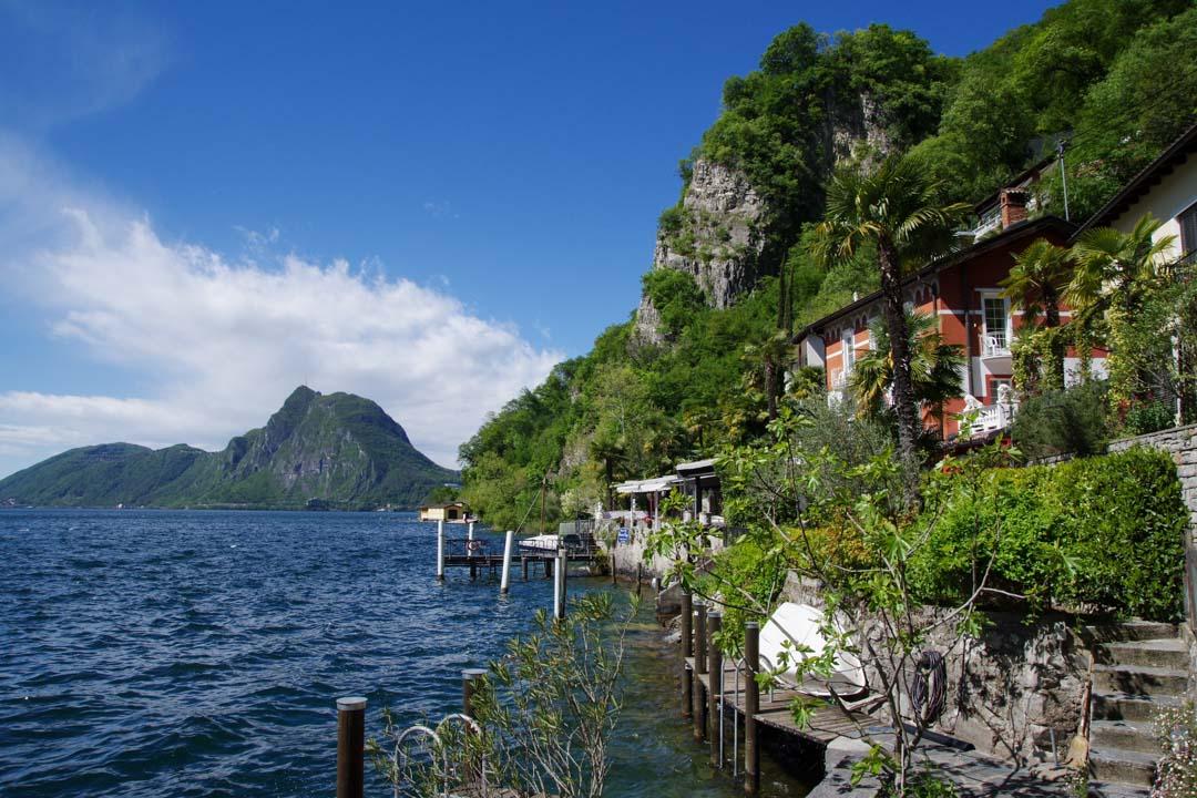 Sentier des Oliviers - Lac de Lugano