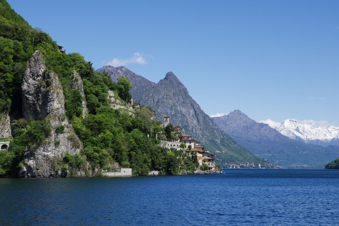 Le village de Gandria - lac de Lugano - Suisse