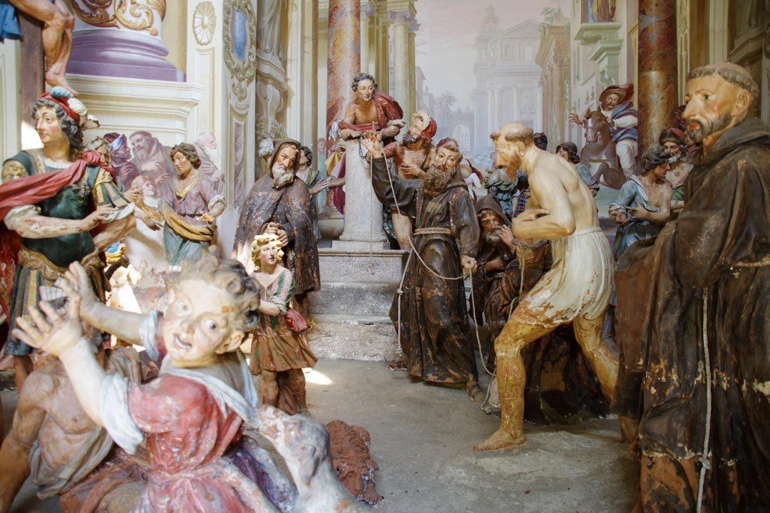 Statues de saint François d'Assise - Sacro Monte d'Orta