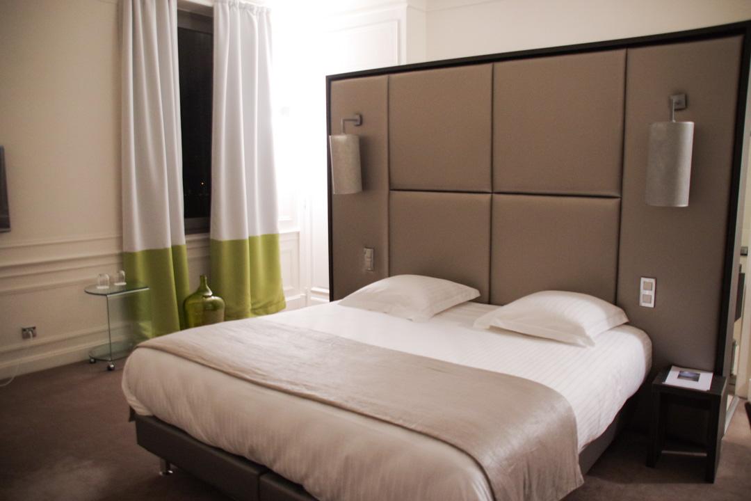 ma chambre - hotel chateau de Lacan