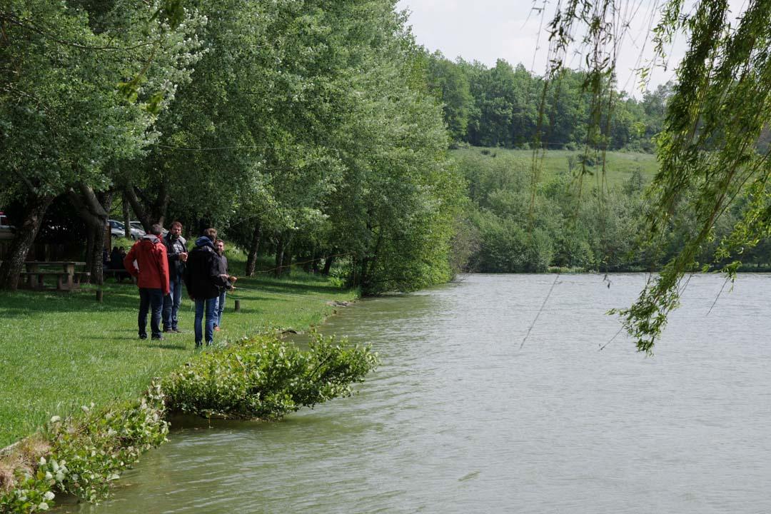 Cours de pèche à la mouche - Lac du Causse