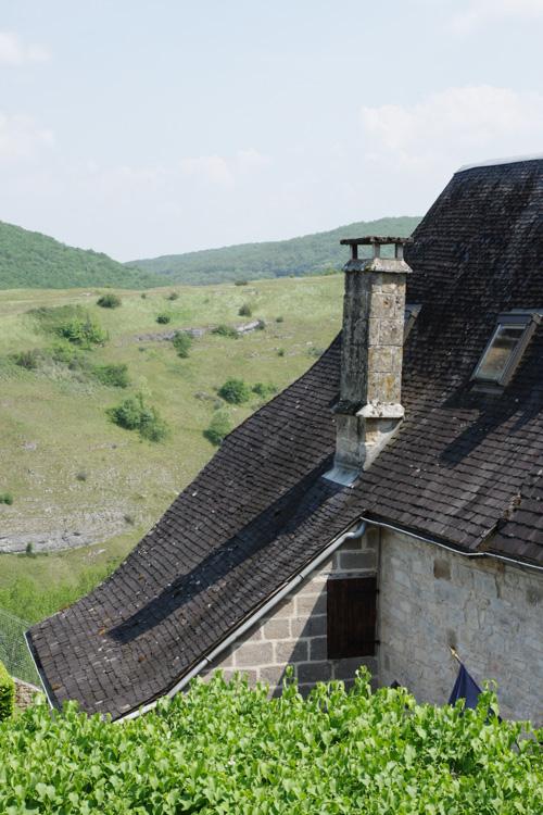 Maison de Chasteaux avec vue sur la montagne pelée