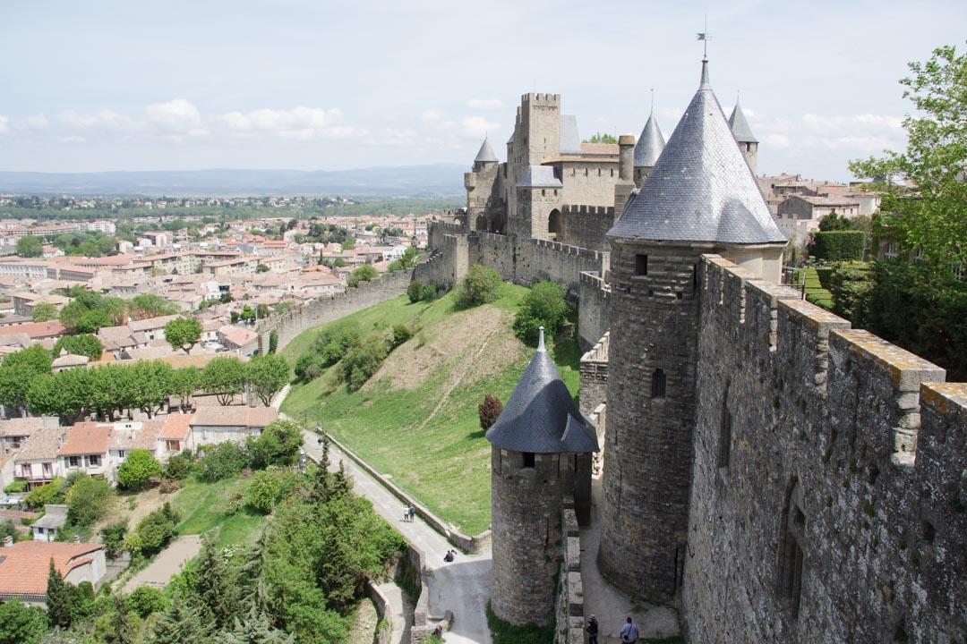 Visite de la cité médiévale de Carcassonne