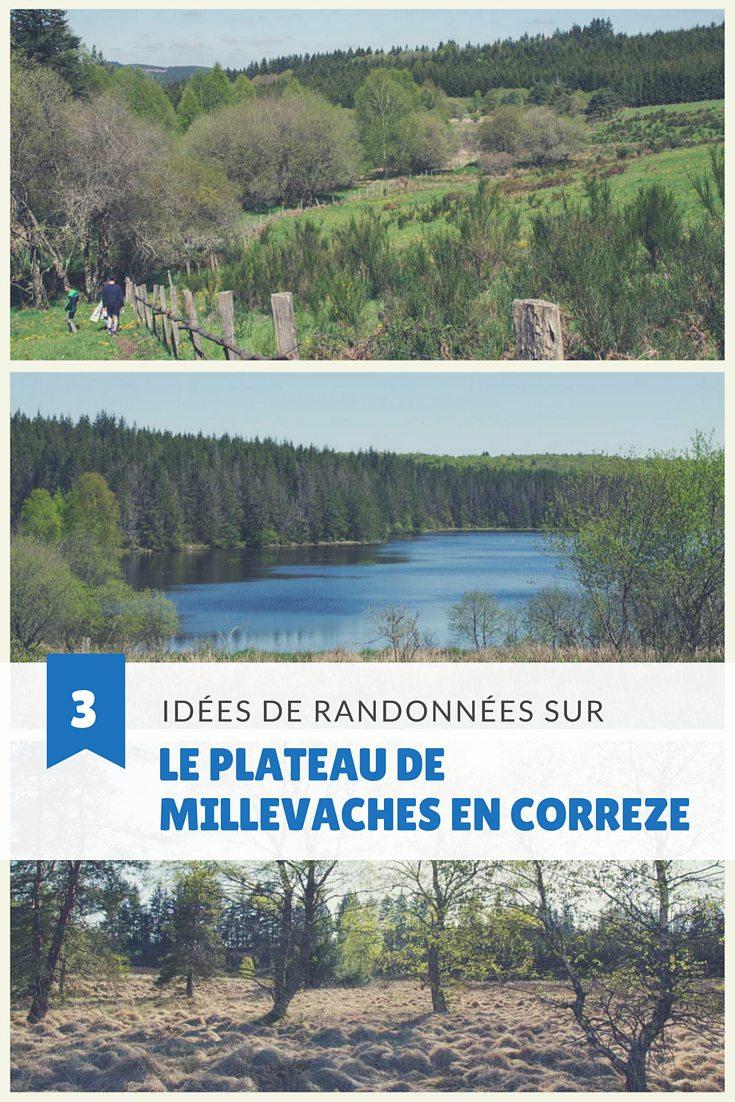 3 idées de randonnées dans la partie correzienne du Parc Naturel Régional de Millevaches en Limousin