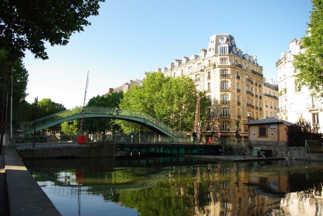 Le Canal Saint Martin - Paris