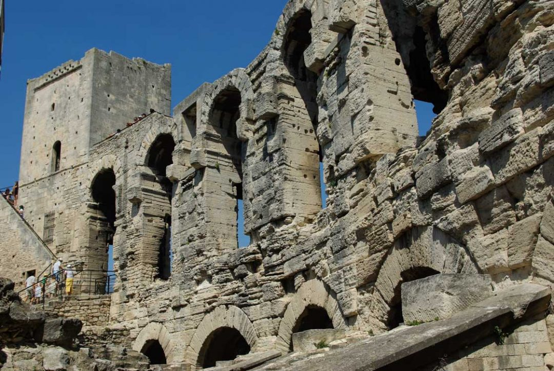 Arène romaine d'Arles - détail