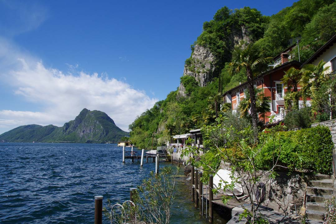 Une journée au bord du Lac de Lugano