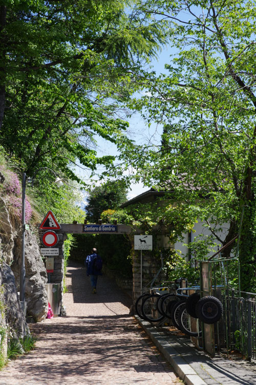 Sentier de l'Oliver vers Gandria