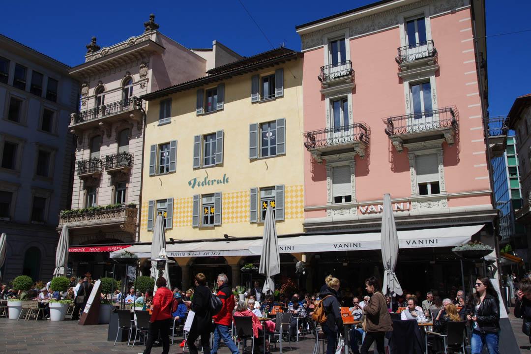 Centre ville de Lugano