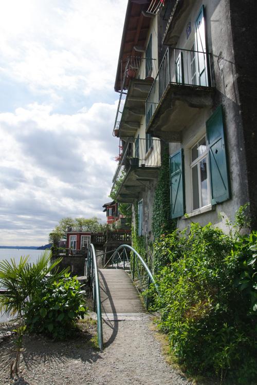 Maisons de l'ile des pécheurs - lac majeur