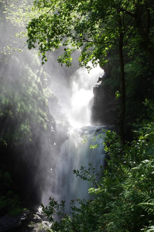Cascade le grand Saut - Gimel les Cascades