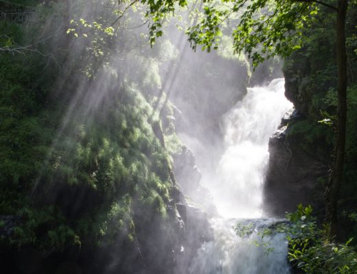 Cascade de Gimel en Corrèze
