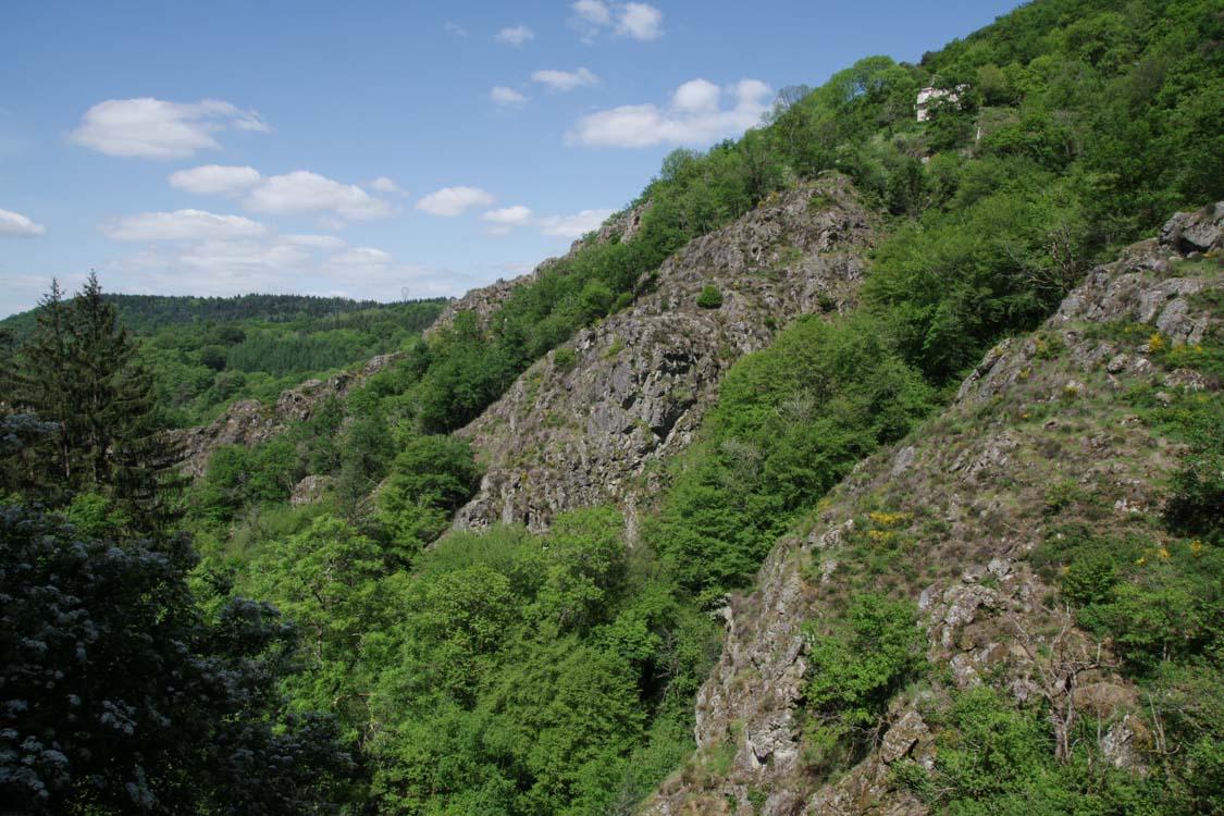Panorama autour de Gimel les Cascades